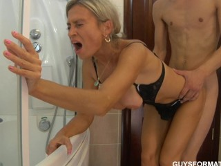 Sweet blondie blowjob sex inova