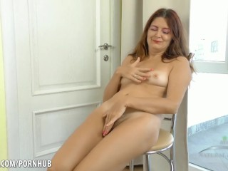 Wifes naked blowjob cock and squirt