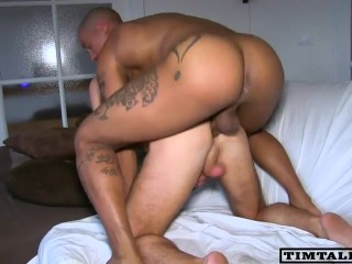 Hot naked milf blowjob