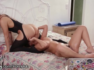 Asian girl takes it hard