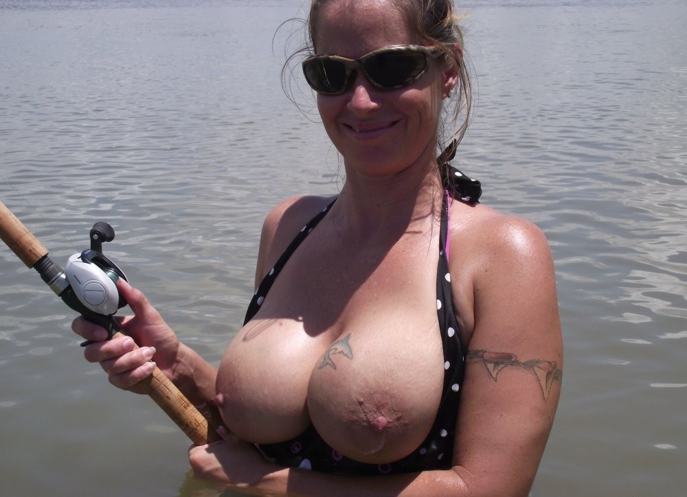 Girls Fishing Sexy Pictures