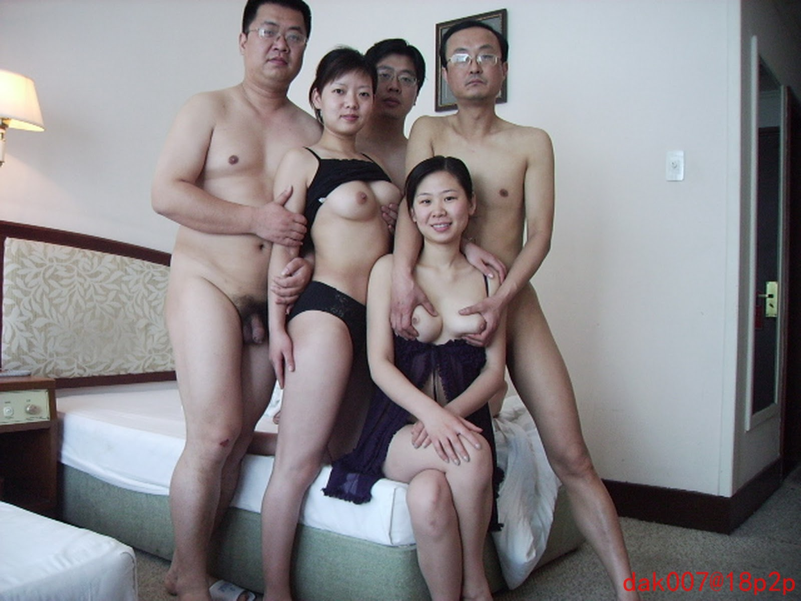 Spying on naked wife